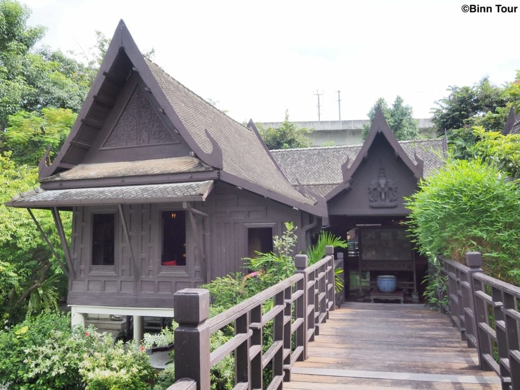 Traditional Thai house at Suan Pakkad Palace