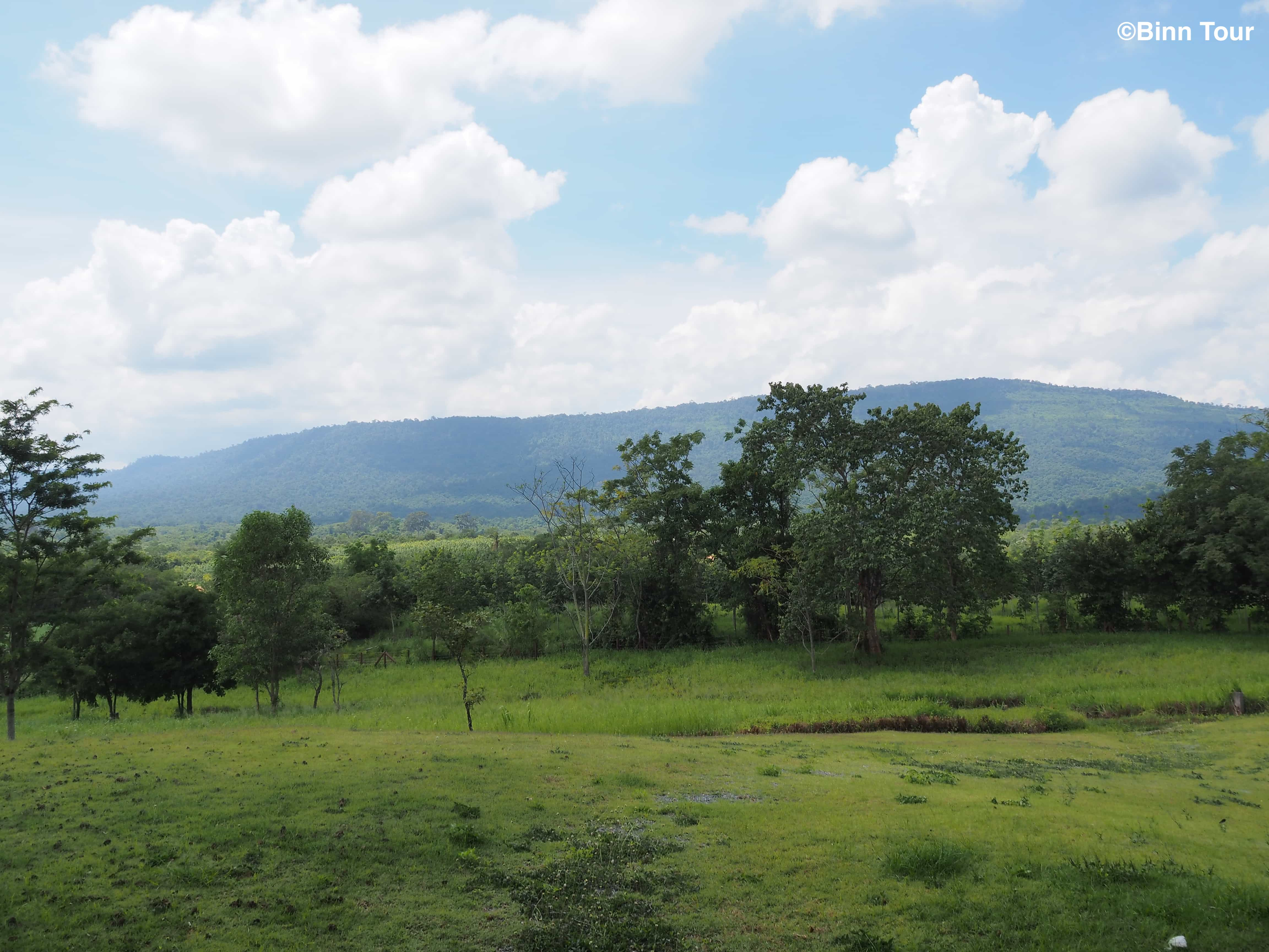 view of lush green valley in Khao Yai National Park